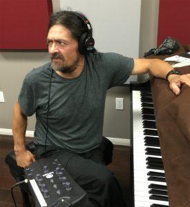 Marcos Loya at piano